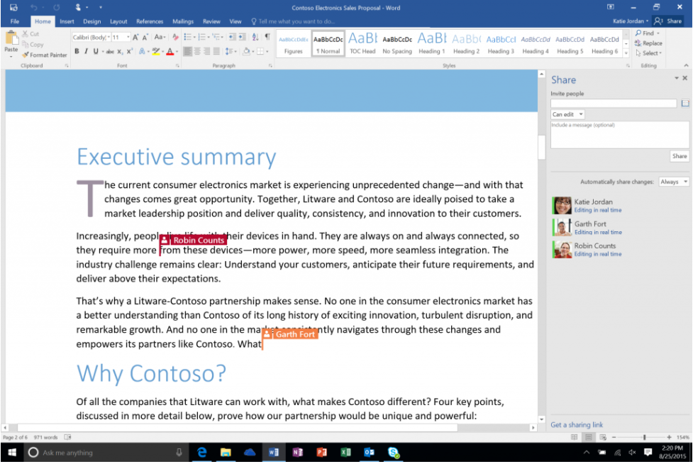 Microsoft 365 Tip of the Week: Co-Authouring in Word
