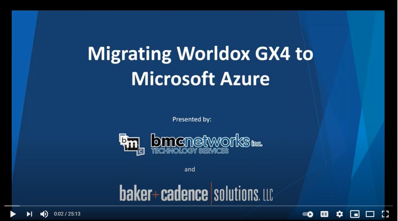 Webinar Recording: Migrating Worldox GX4 Pro to Microsoft Azure