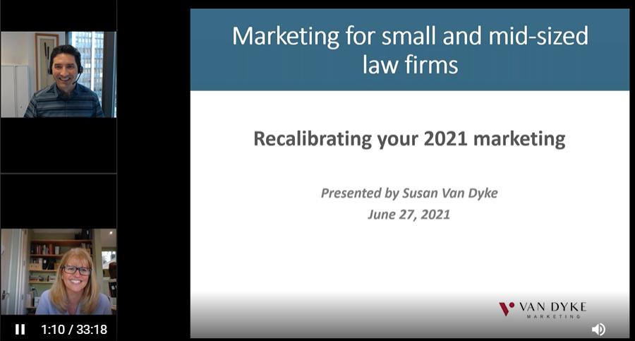Webinar Recording: BMC Networks & Van Dyke Marketing: Marketing Your Small or Mid-sized Law Firm